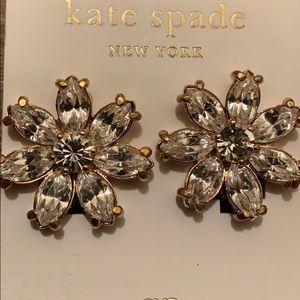Kate Spade clip-on fashion earrings
